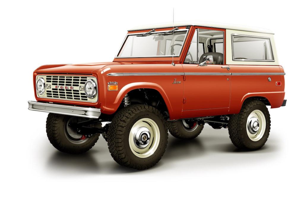 Ford Bronco US-Car Klassiker Replika ICON 4x4 Old School BR #63 Versteigerung Auktion Charity Autotype Design