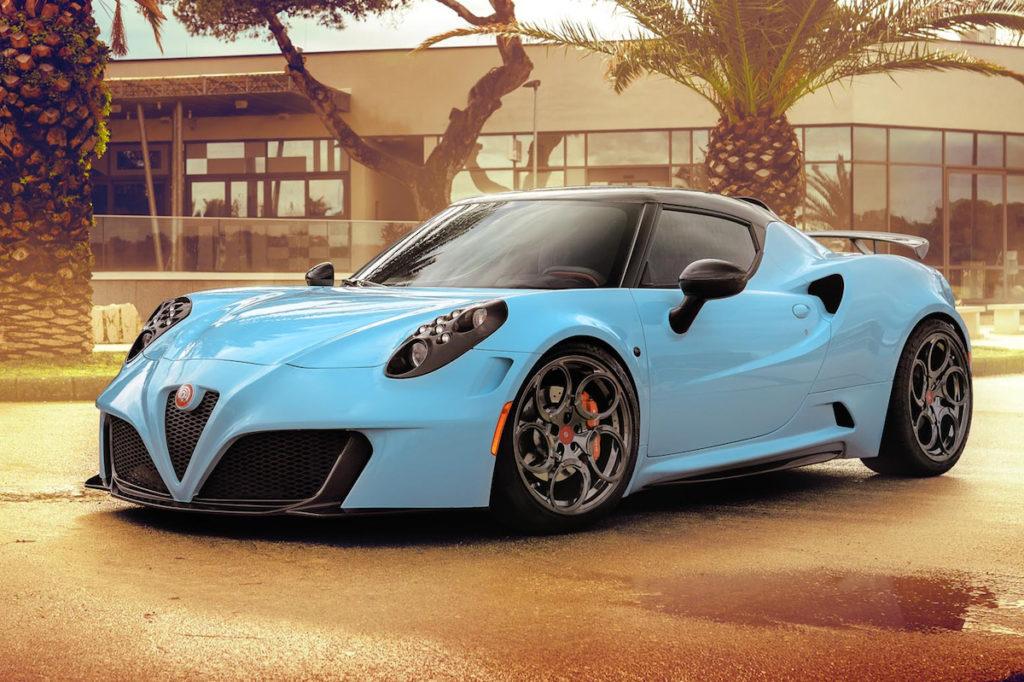 Ongebruikt Pogea Racing macht den Alfa 4C zum Gott | Eurotuner News TH-97