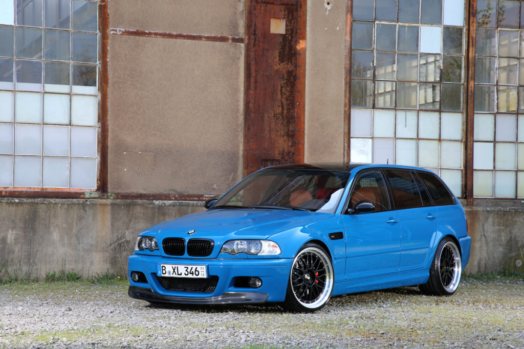 M3 Transformation Fur Den E46 Touring Eurotuner News