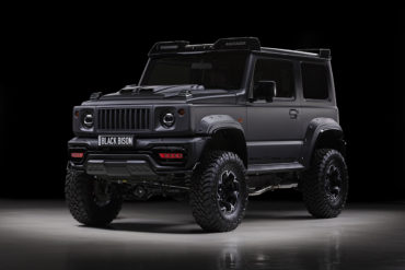 WALD JIMNY/SIERRA Black Bison Edition Black Background