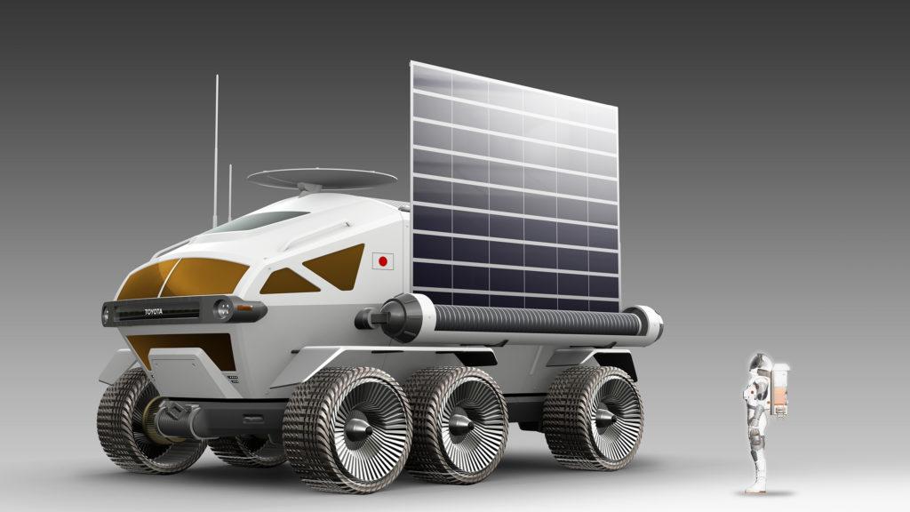 Toyota auf Erkundungstour im Weltall!