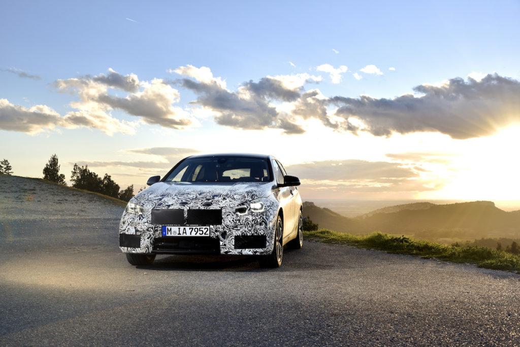 Erprobung Testfahrt Miramas BMW 1er Kompaktklasse Prototyp Frontantrieb
