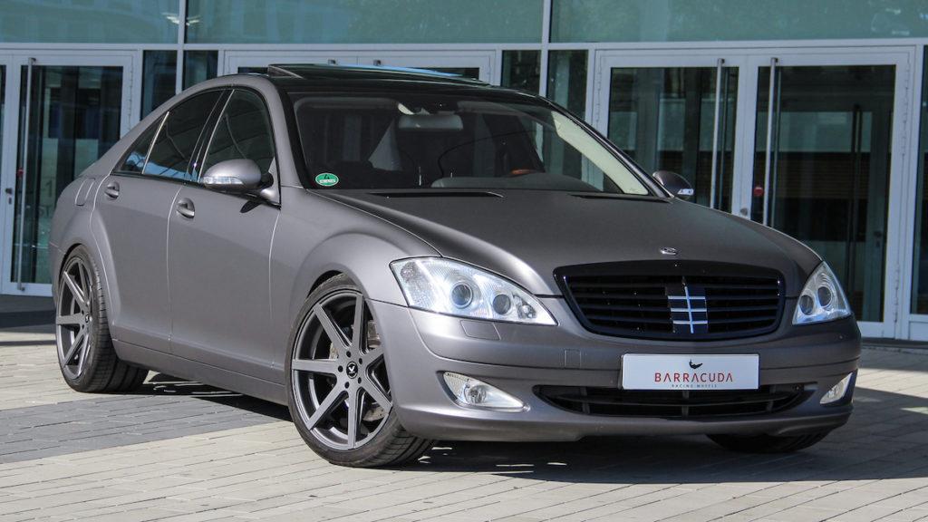 Mercedes-Benz S-Klasse W221 Luxuslimousine Tuning Veredlung Felgen Räder Barracuda Racing Wheels Virus 20 Zoll