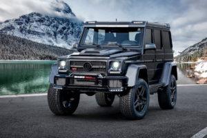 """Tuning Genfer Autosalon 2019 Premiere limitiertes Sondermodell Brabus 850 6.0 Biturbo 4x4² Final Edition """"1 of 5"""" Mercedes-AMG G 63 W463 Bodykit Carbon Innenraum Leistungssteigerung"""