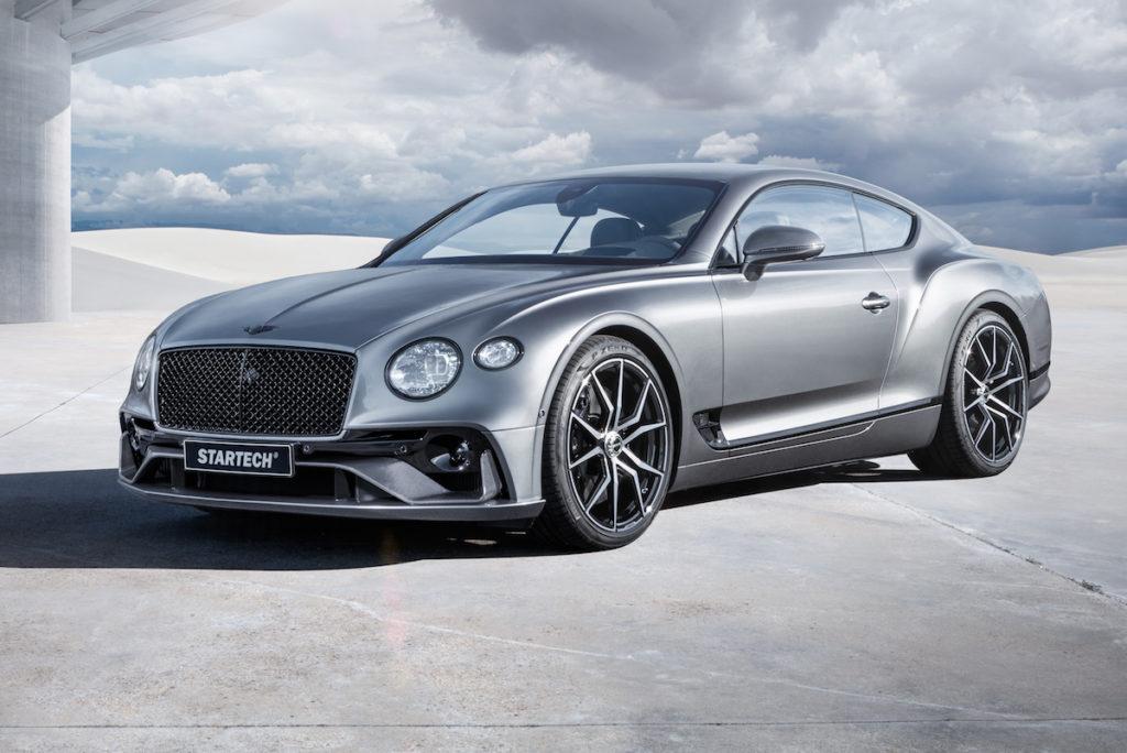 Bentley Continental GT Startech Bodykit Carbon Felgen Innenraum Leder Alcantara