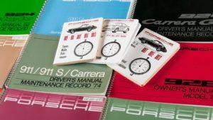 Neu bei Porsche Classic: Original Betriebsanleitungen im Nachdruck!