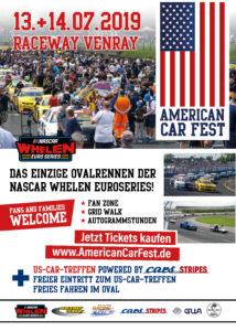 American Car Fest NASCAR Whelen Euro Series Event Racing Motorsport Oval Cars & Stripes Magazin US-Car-Treffen