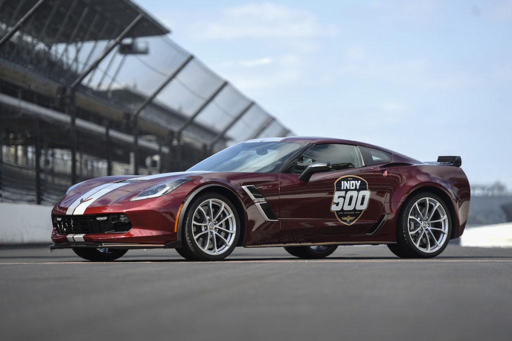 Chevrolet Corvette Grand Sport Indy 500 2019 Pace Car