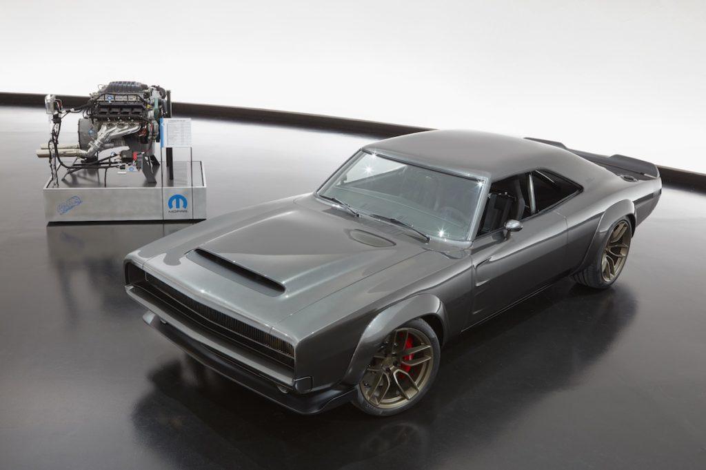 Mopar Hellephant HEMI Motor Vorbestellung Tuning Oldtimer Dodge Super Charger Concept