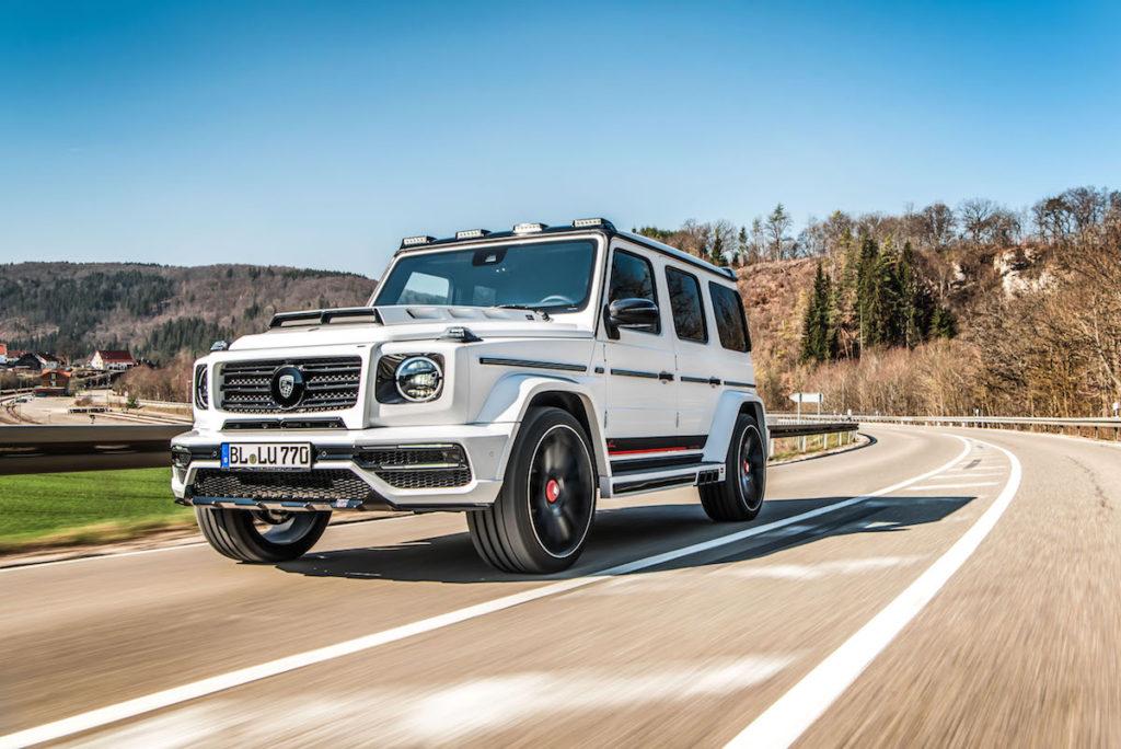 Mercedes-AMG G 63 Tuning Veredlung Bodykit Leistungssteigerung Felgen Lumma CLR G770
