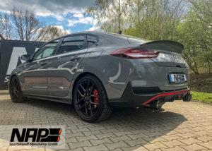 NAP-Klappenauspuffanlage für Hyundai i30 N Fastback!