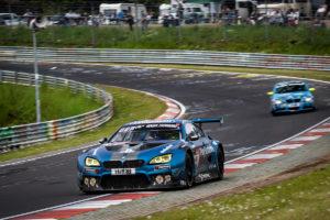 BMW M6 GT3 Rennwagen 24-Stunden-Rennen Qualifikationsrennen Dreifachsieg
