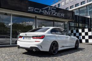 BMW G20 Dreier Limousine AC Schnitzer Tuning Veredlung Anbauteile Fahrwerk Felgen Interieur