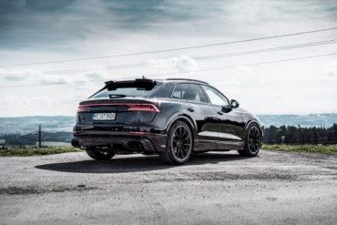 Audi Q8 SUV-Coupé Tuning Tieferlegung Abt Leven Control ALC Felgen Abt Sport GR