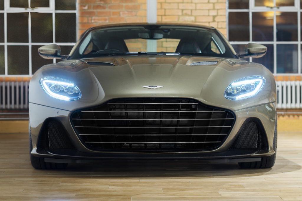 Sportwagen Gran Turismo Sondermodell Aston Martin On Her MAjesty's Secret Service DBS Superleggera OHMSS Edition