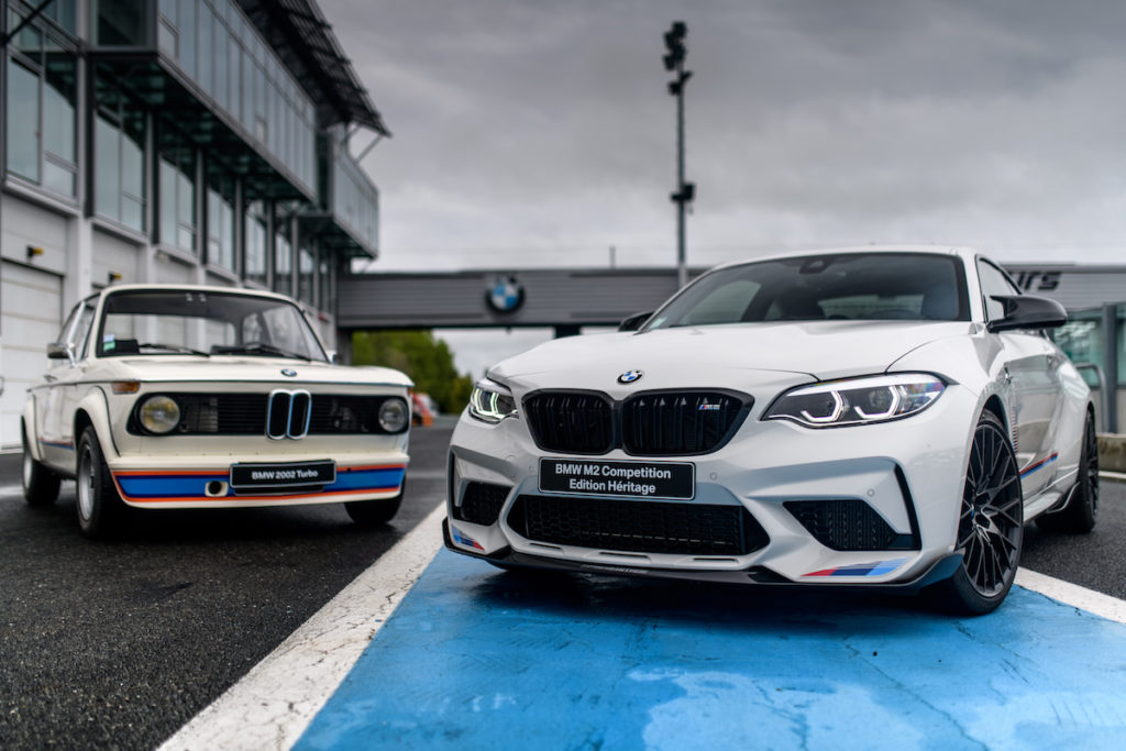 Sondermodell Frankreich exklusiv BMW M2 Competition Edition Heritage limitiert Sportcoupé BMW 2002 Turbo