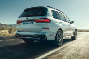 Biturbo-V8 Topmodell Sportversion BMW X7 M50i X5 M50i SUV Allradler High-End
