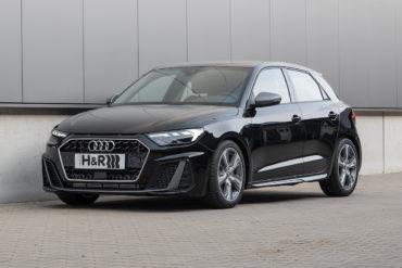 H&R Fahrwerke Federn Tieferlegung Tuning Audi A1 Sportback GB