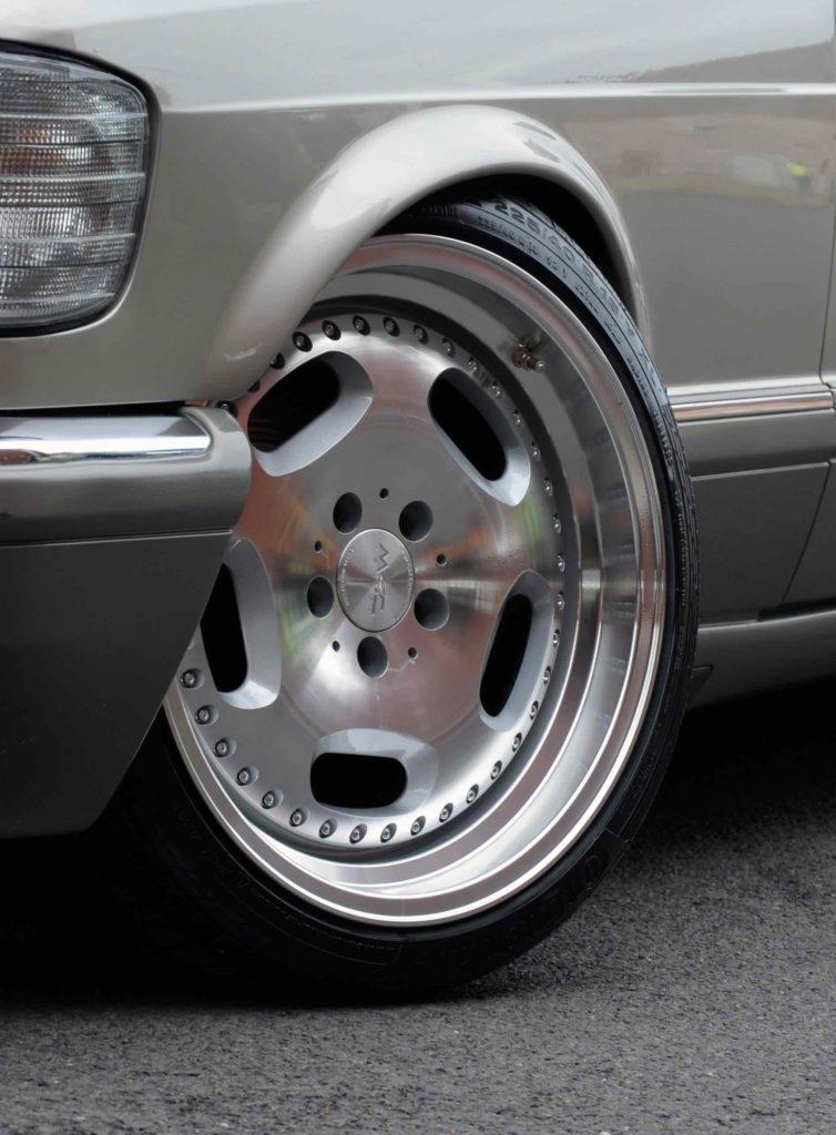 mecclassico1-Rad für klassische Mercedes-Modelle