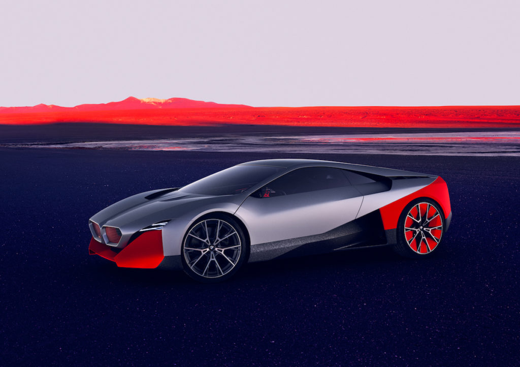 Sportwagen-Studie Coupé Ausblick Zukunft BMW Vision M NEXT München #NEXTGen