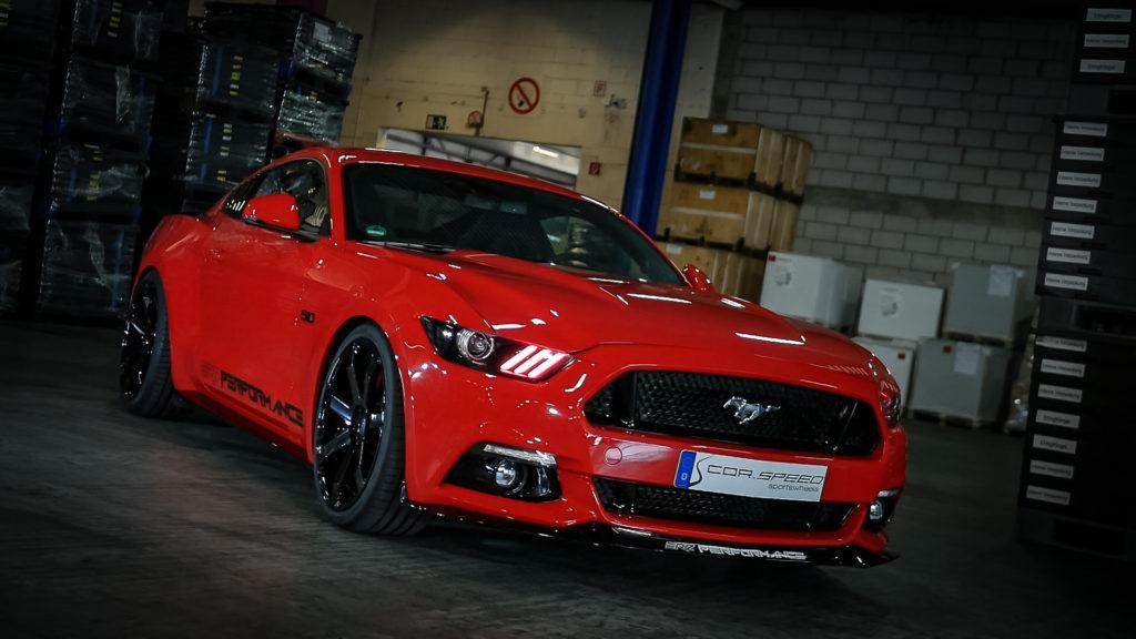 Challenge-Felgen für den Ford Mustang!