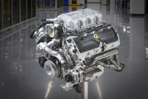 Kompressor-V8 Motor Ford Mustang Shelby GT500 Sportcoupé Topmodell Leistung 760 hp