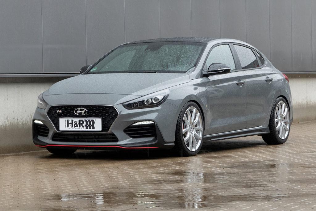 Hyundai i30 Fastback N Tuning Veredlung Tieferlegung Federn H&R Fahrwerk