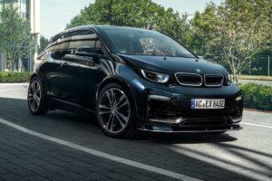 BMw i3 Kompaktklasse E-Auto Tuning Veredlung AC Schnitzer Fahrwerk Karosserie Anbauteile Innenraum i3s