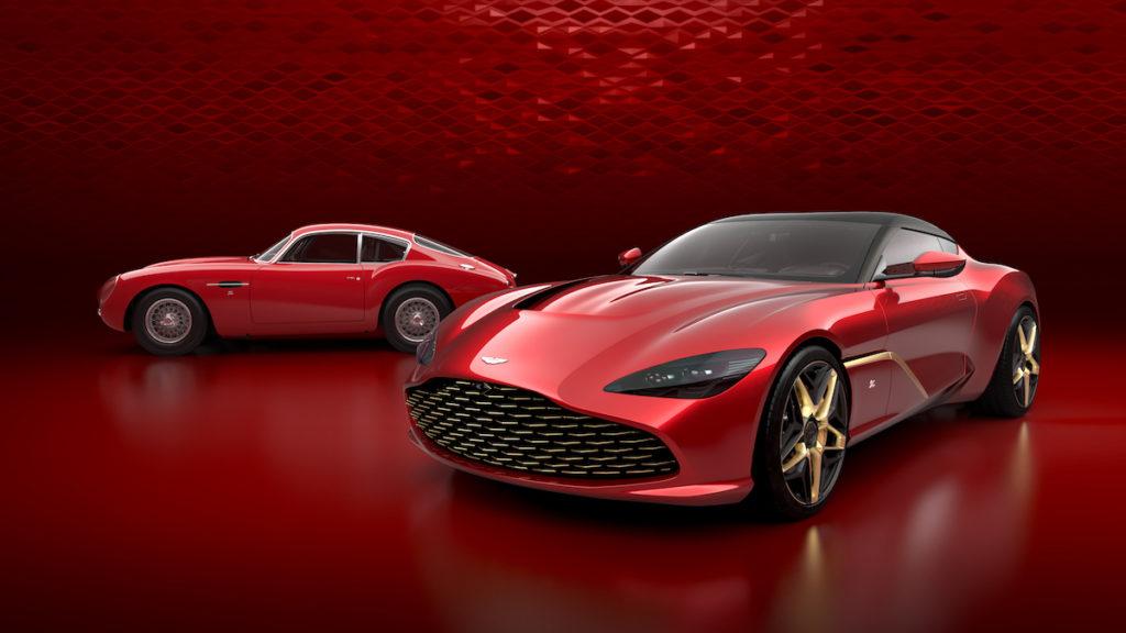 Aston Martin Sondermodelle Zagato Aston Martin DBS GT Zagato DB4 GT Zagato Luxusklasse Gran Turismo Coupé