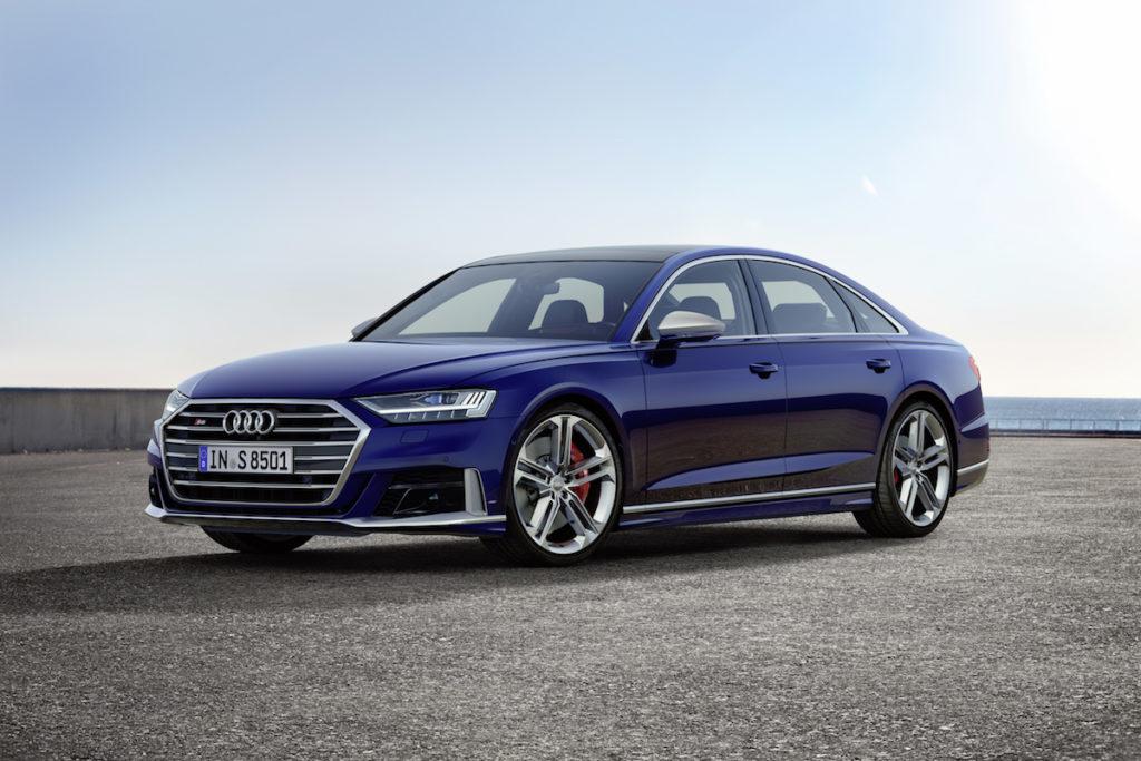 Topmodell Neuheit Luxuslimousine Audi S8