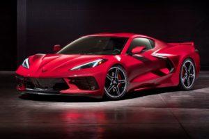 Neuheit Mittelmotor-Sportwagen Chevrolet Corvette C8 Stingray 2020