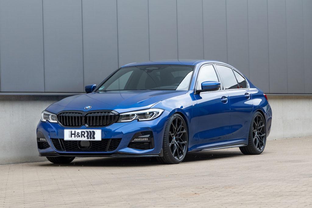 BMW G20 330i Limousine M Paket H&R Fahrwerk Sportfedern Neuheit Tuning