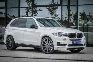 BMW X5 F15 SUV Allradler 4x4 Tuning JMS Fahrzeugteile Bodykit Breitbau Widebody Fahrwerk Tieferlegung Felgen Cor.Speed