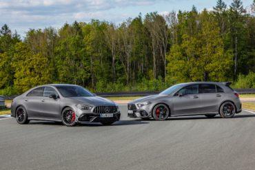 Mercedes-AMG A 45 S AMG CLA 45 S Hot Hatch Coupé Kompaktklasse Topmodell