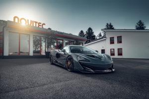 McLaren 600LT Sportwagen Topmodell Tuning Veredlung Novitec Carbon Leistungssteigerung Schmiedefelgen Rossen