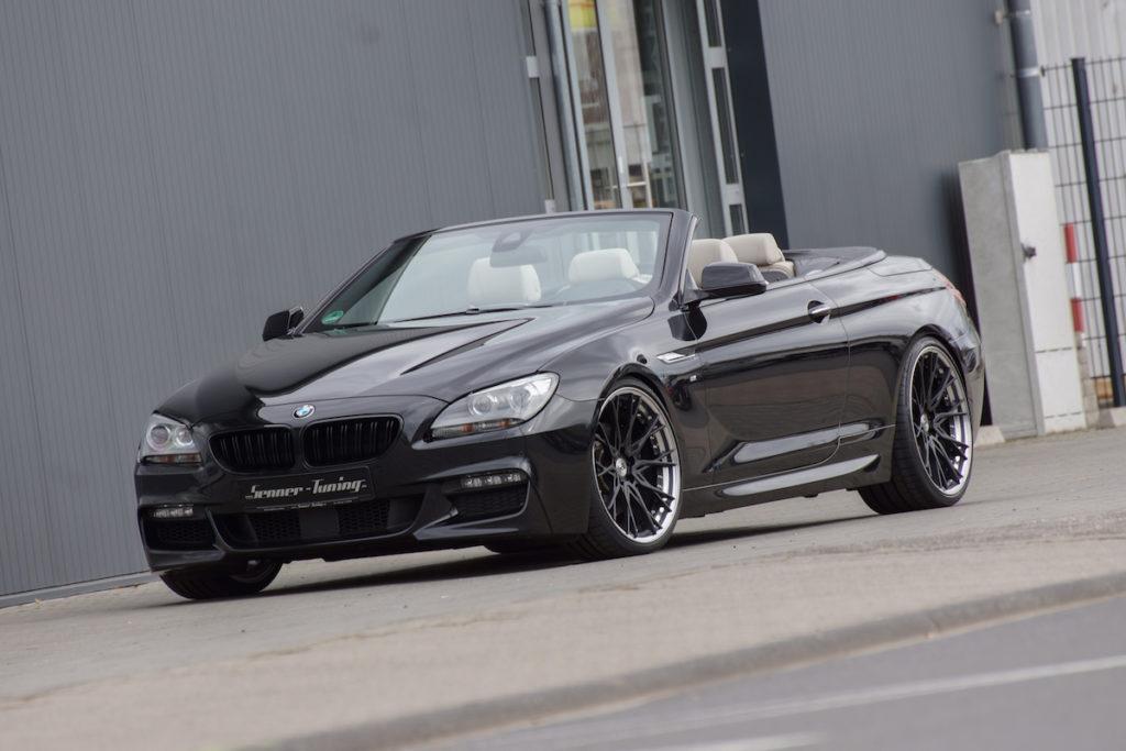 BMW F12 640i Cabriolet Senner Tuning Leistungssteigerung Felgen mbDESIGN Fahrwerk Luxusklasse 6er