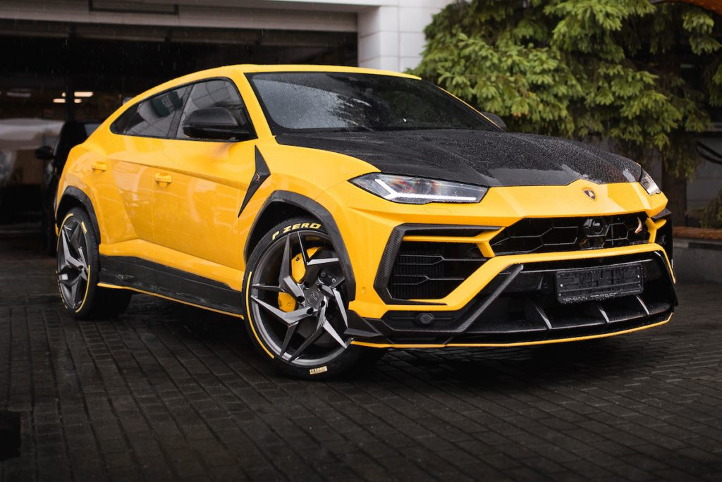 Lamborghini Urus Tuning SUV TopCar Design Russland Bodykit Carbon Felgen Schmiederäder Allradantrieb SUV