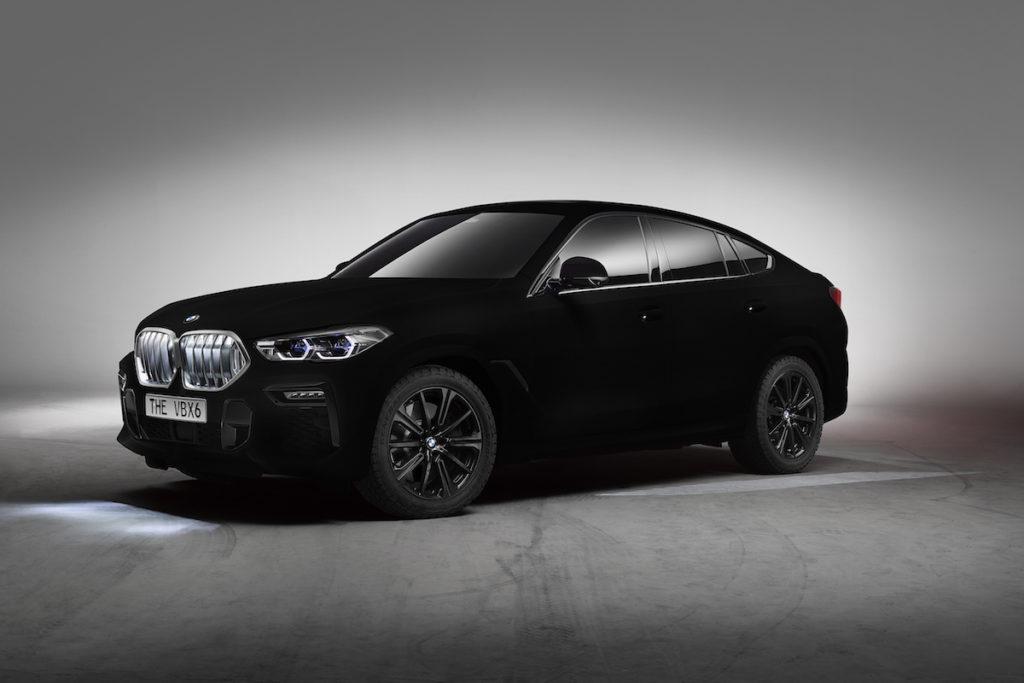BMW G06 X6 IAA 2019 Showcar SUV-Coupé The VBX6 Vantablack