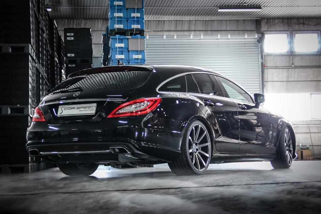 Mercedes-Benz X218 CLS Shooting Brake Tuning Cor-Speed Sports Wheels DeVille Räder Felgen