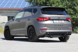 Cupra Ateca Topmodell SUV Allradler Fox Sportauspuffanlagen Klappen-Abgasanlage