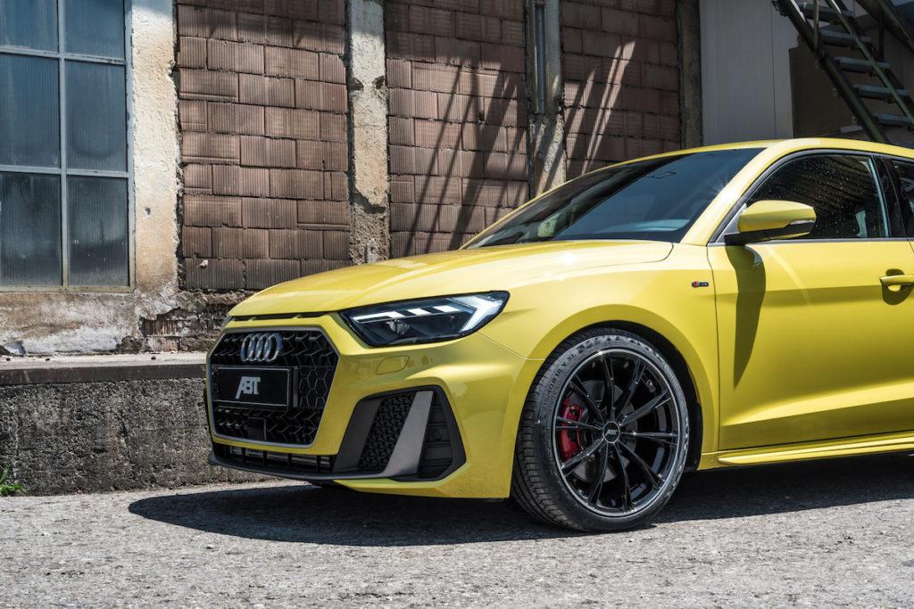 Audi A1 Sportback 40 TFSI Tuning Abt Sportslibe Felgen Räder Fahrwerk Tieferlegung Leistungssteigerung AEC