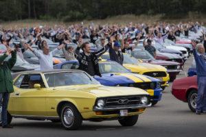 Weltrekord Ford Mustang weltgrößtes Treffen Lommel Belgien