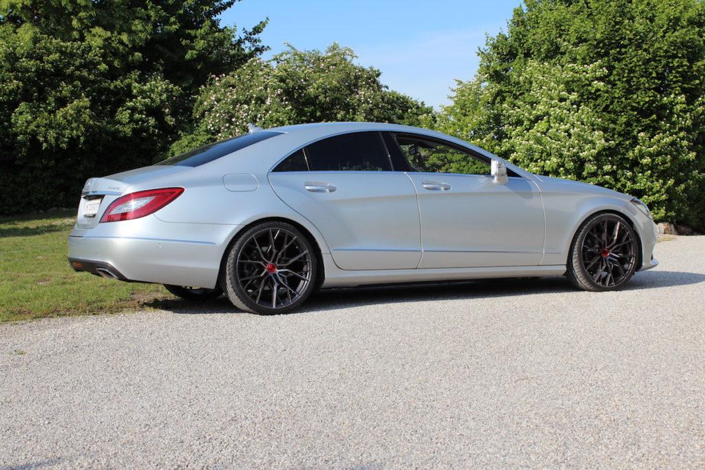 Mercedes-Benz CLS 250 d 4Matic C218 Tuning HS Motorsport Elegance Wheels FF330 Tieferlegung Leistungssteigerung