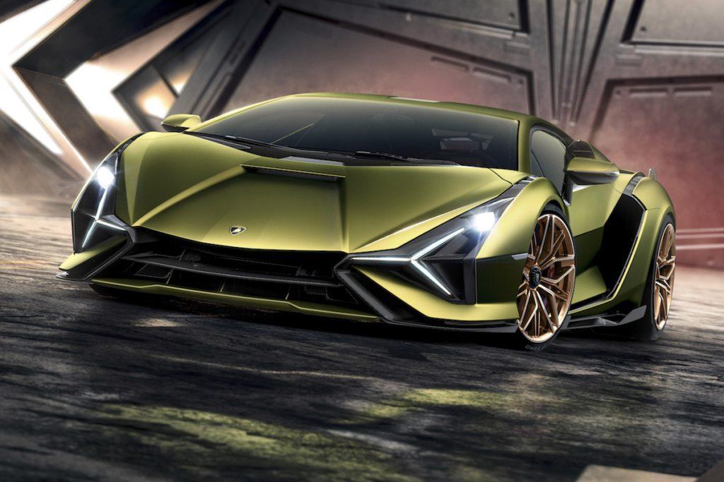 Hybrid Supersportwagen Premiere IAA 2019 Lamborghini Sián