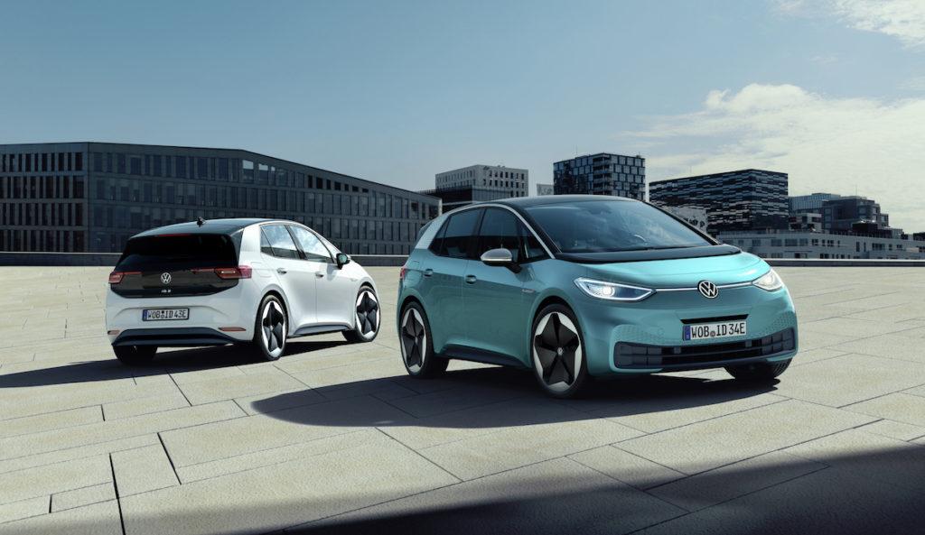 Internationale Automobil-Ausstellung 2019 Frankfurt Neuheit Premiere Elektroauto VW ID.3