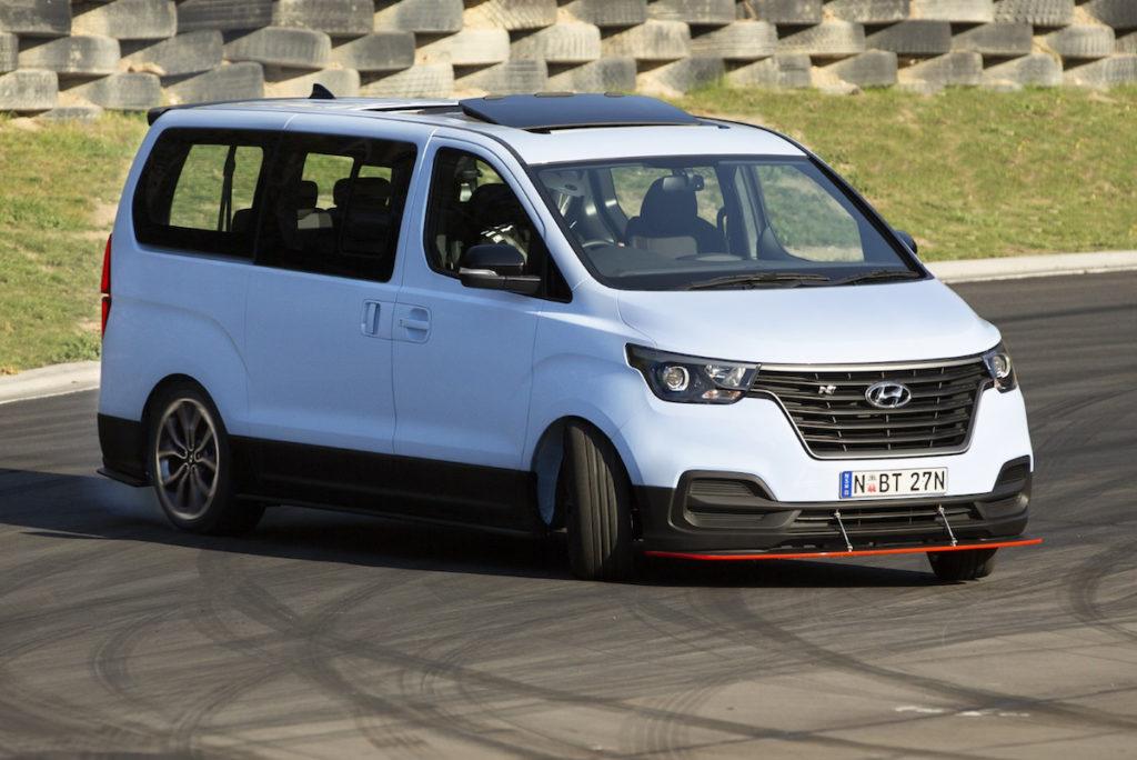 Hyundai H-1 travel Bus Achtsitzer Van Australien Einzelstück Unikat World Time Attack Challenge Hyundai iMax N