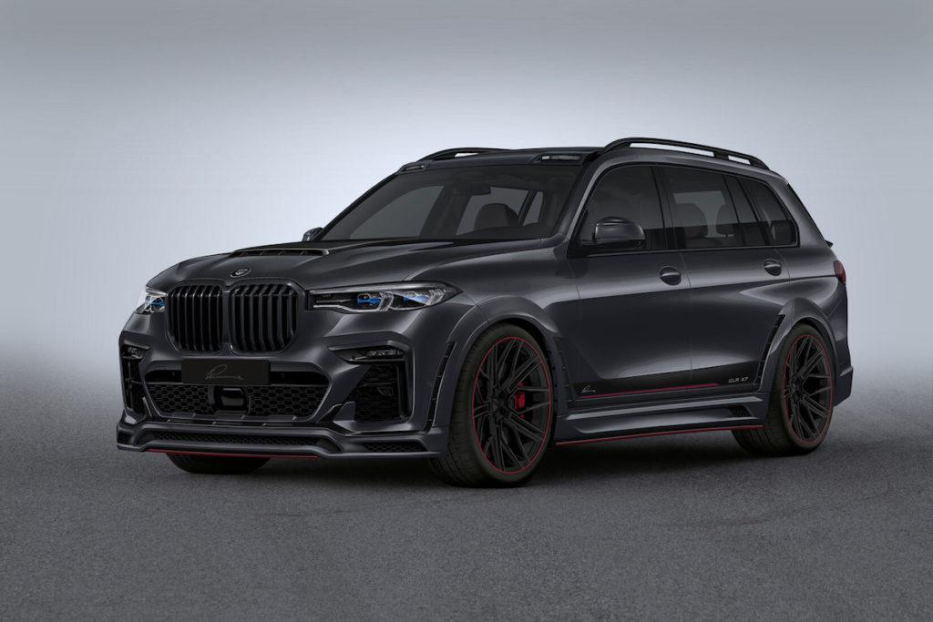 BMW X7 G07 Full-Size-SUV Lumma CLR X7 Tuning Bodykit Felgen Leistungssteigerung Abgasanlage Innenraum