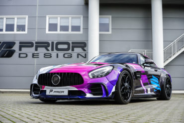 Prior-Design hauseigene Folierung Mercedes-AMG GT Coupé PD700GTR Widebody Aerokit Tuning Need for Speed Heat Gamescom