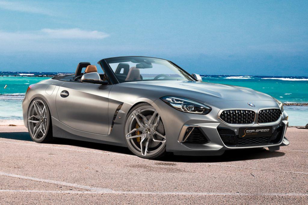 Cor.Speed Sports Wheels Kharma Essen Motor Show 2019 Premiere Neuheit Tuning Felge BMW Z4