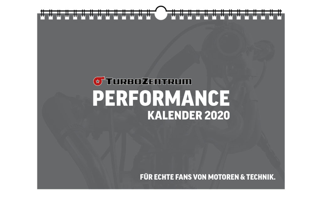 TurboZentrum Performance-Kalender 2020 limitiert Essen Motor Show 2019 Turbolader